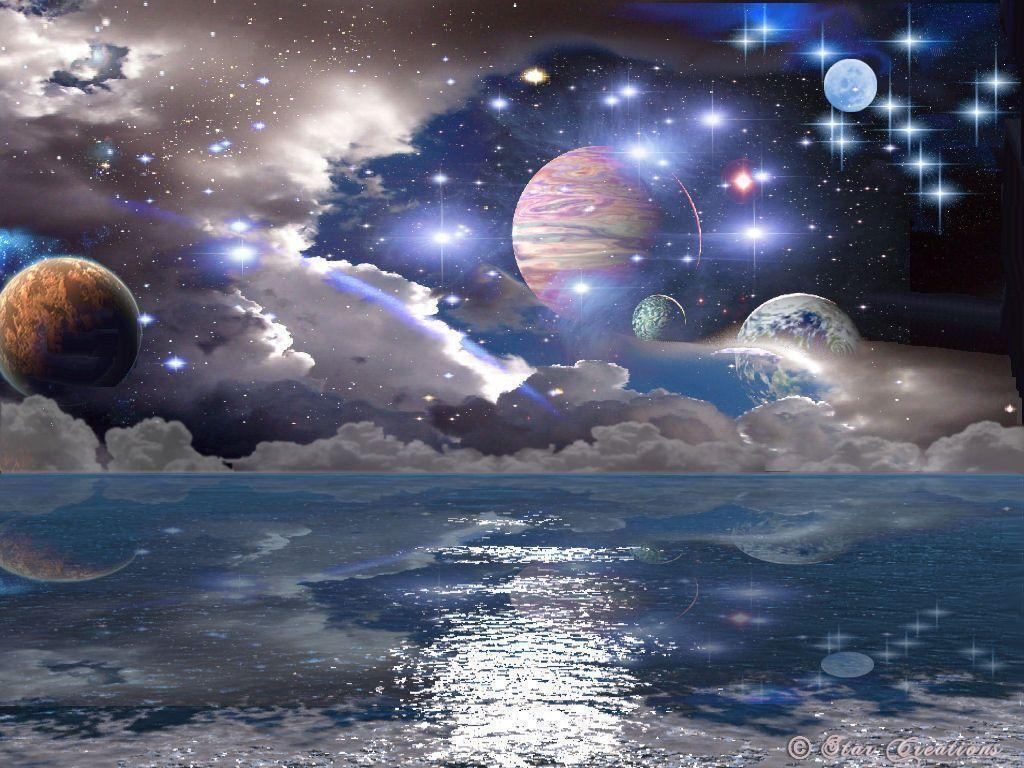 space planets wallpaper img18 «1024×768 «Space art «Universe …