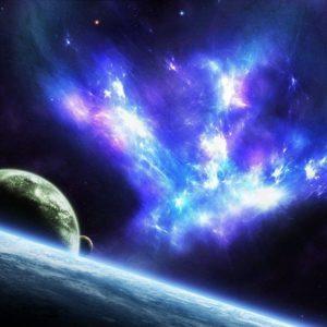 download Blue Space wallpaper – 998755