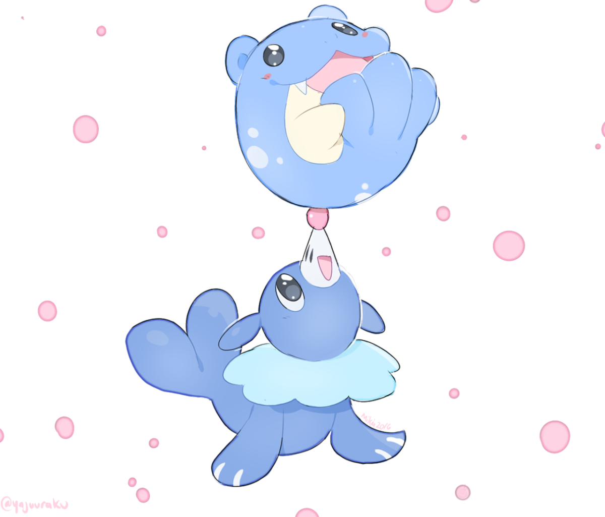 Aghhh Spheal is my favorite Non-Starter pokemon and Popplio is one …