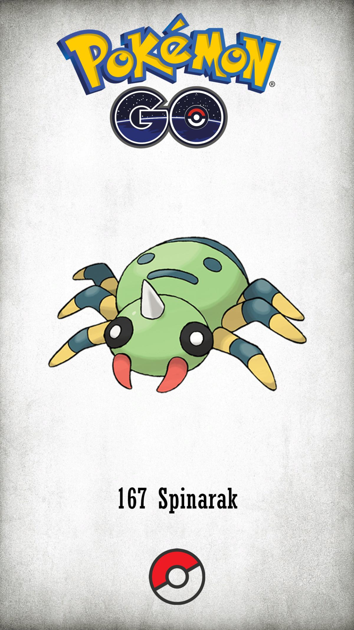 167 Character Spinarak | Wallpaper