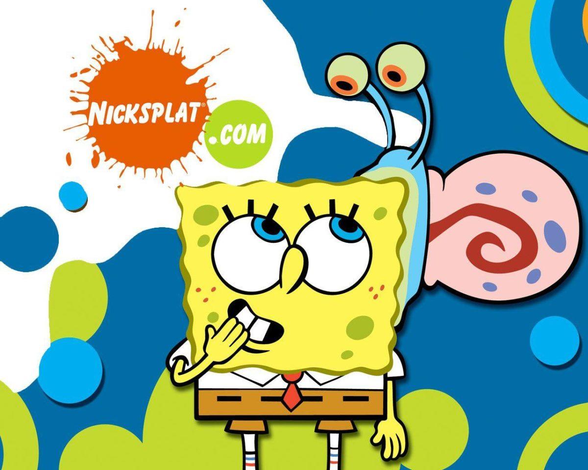 Gary and Spongebob Wallpaper | Cute Spongebob Wallpapers