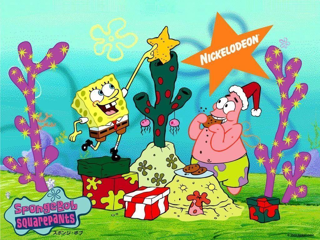 Spongebob Squarepants Christmas Wallpaper Download HD | Cartoons …