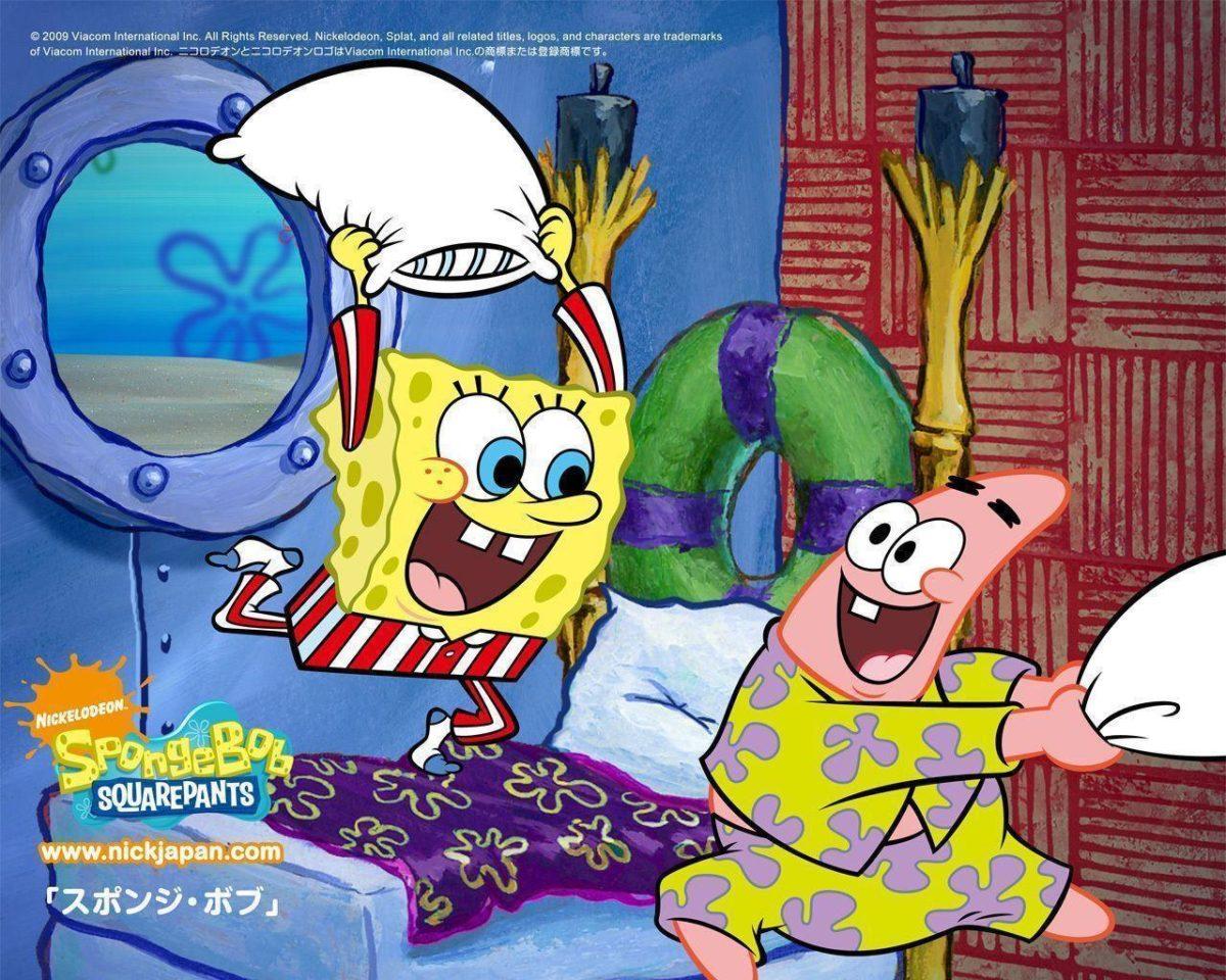 Wallpapers For > Spongebob Birthday Wallpaper