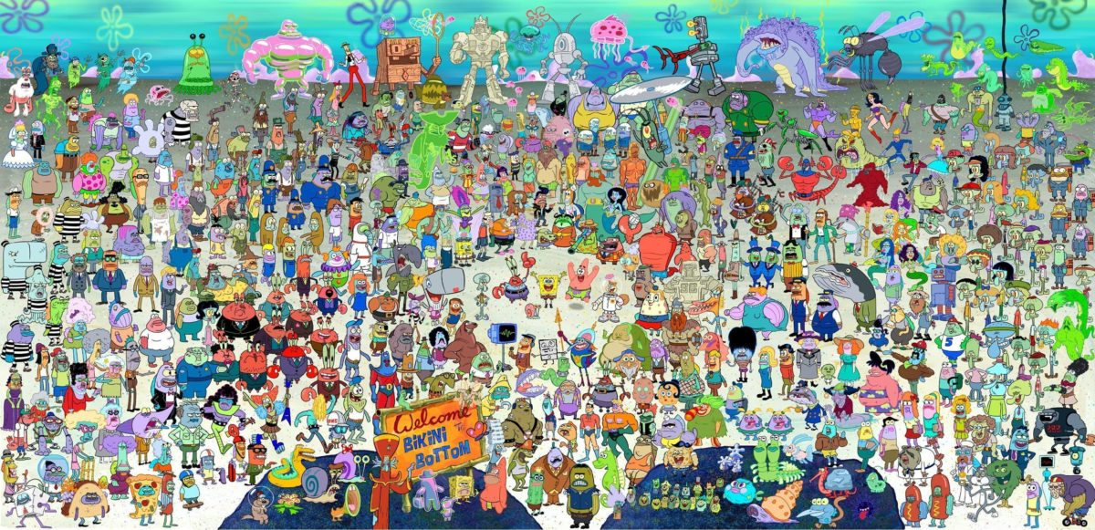 Spongebob Widescreen Background Wallpapers [276] – HD Wallpaper …