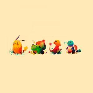 download Pokemon Bulbasaur, Pikachu, Charmander, Squirtle ❤ 4K HD Desktop …