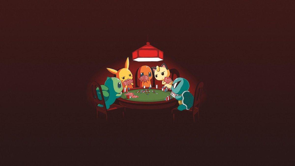 Bulbasaur, #Squirtle, #Charmander, #Pokémon, #poker, #Pikachu …