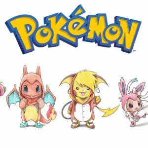 download Pikachu, Bulbasaur, Squirtle, Eevee, Charmander Wallpapers HD …