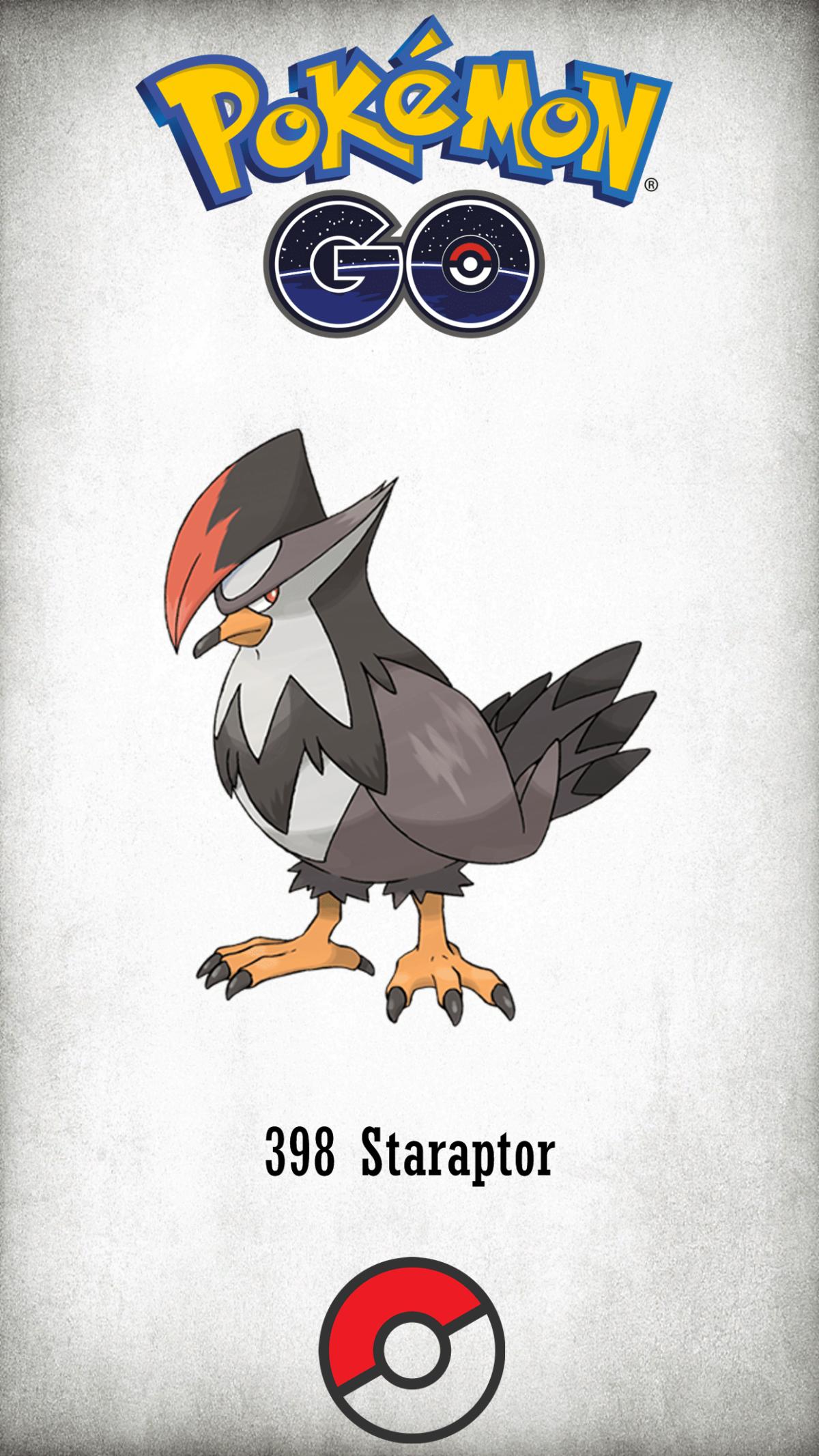 398 Character Staraptor | Wallpaper