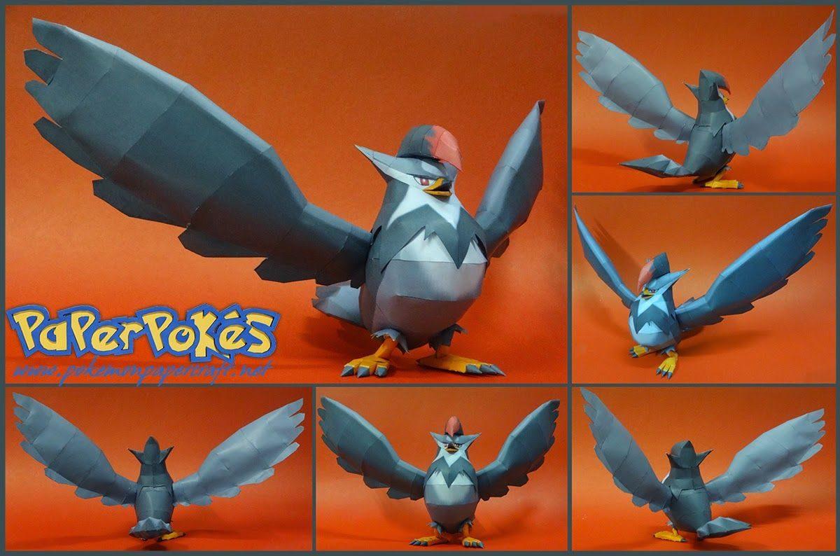 Paperpokés – Pokémon Papercraft: STARAPTOR