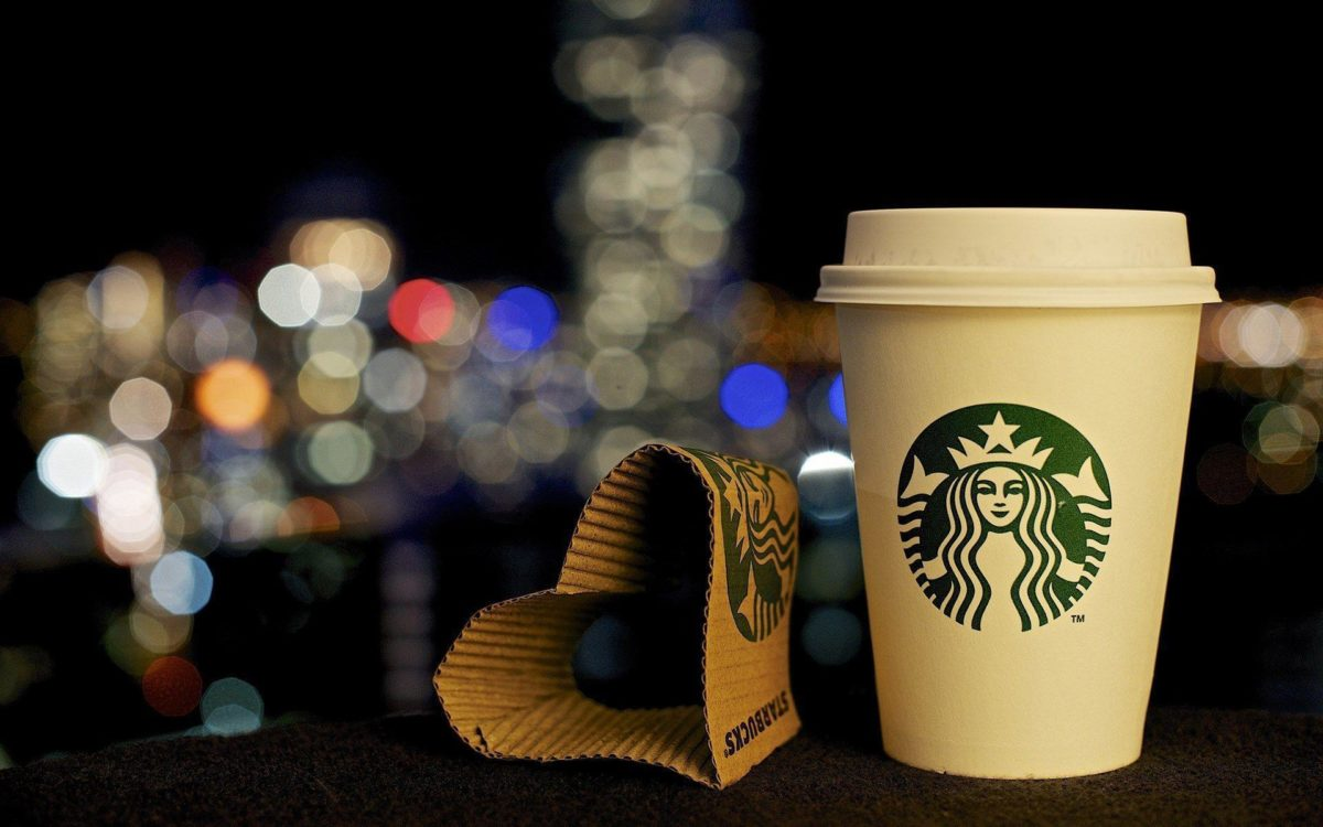 Paper Heart Shaped Starbucks Coffee HD Wallpaper – ZoomWalls