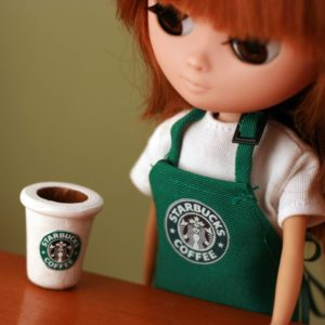 download Download 2560×2048 Starbucks Doll Wallpaper