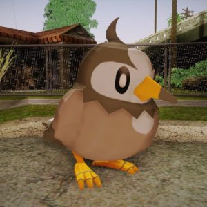 download Starly from Pokemon for GTA San Andreas