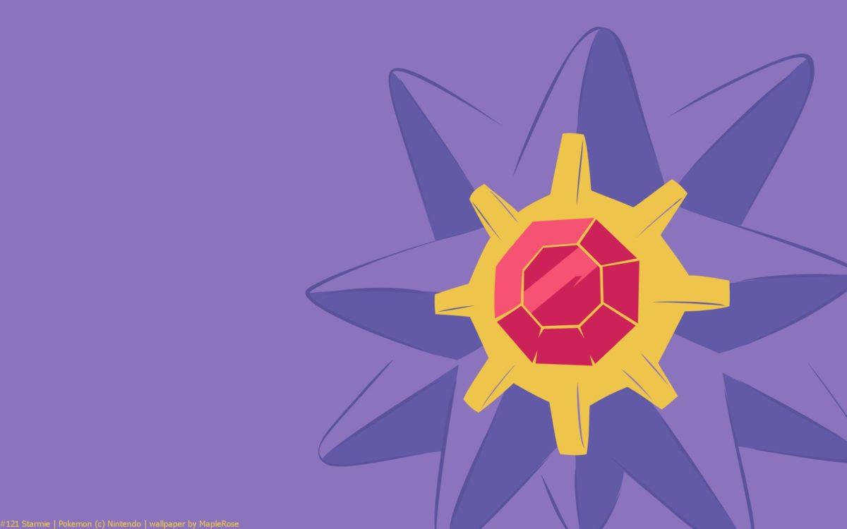 Starmie Pokemon HD Wallpaper – Free HD wallpapers, Iphone, Samsung …
