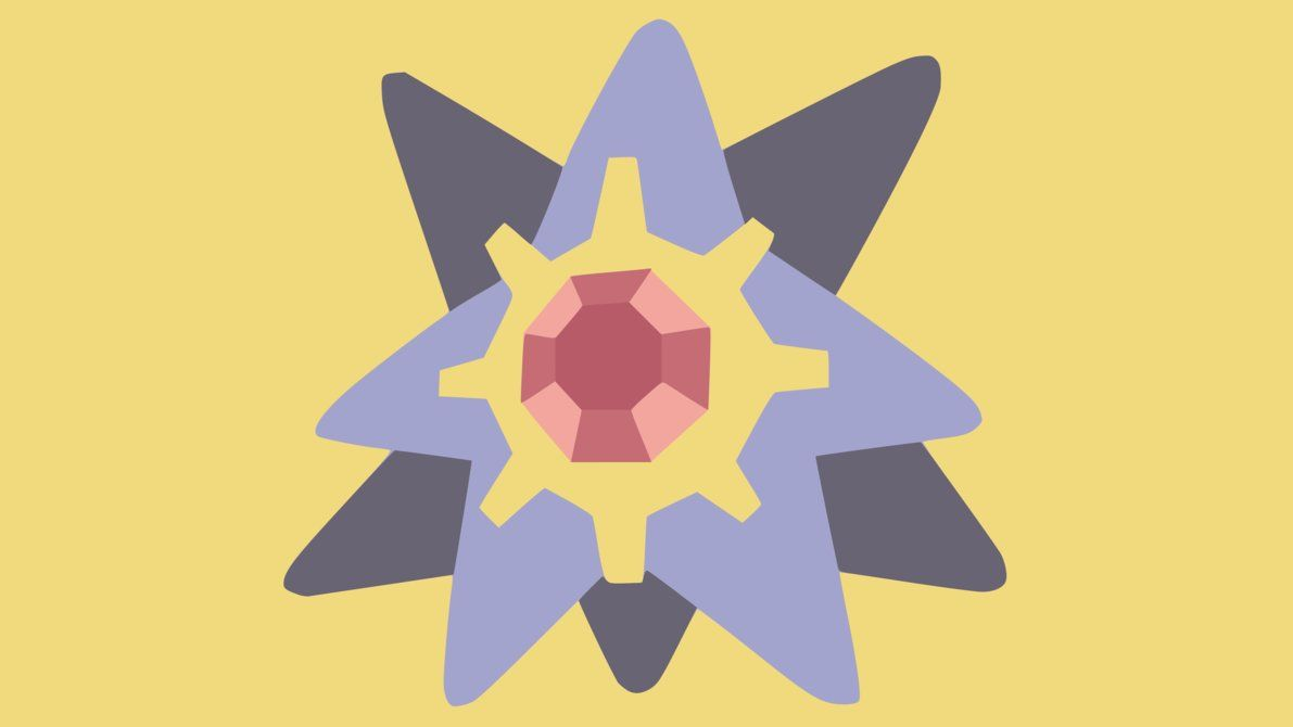 Starmie Wallpaper by DamionMauville on DeviantArt