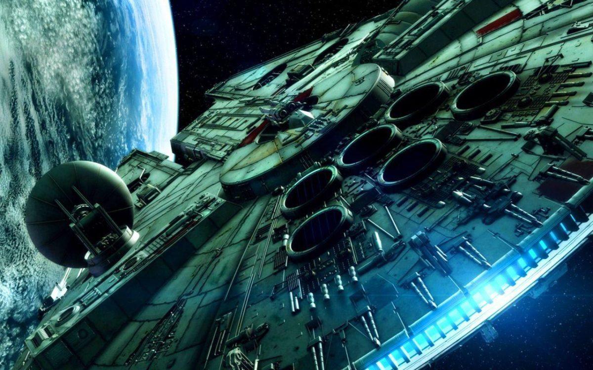 Desktop Wallpaper Millennium Falcon Star Wars Episode 1920 X 1080 …