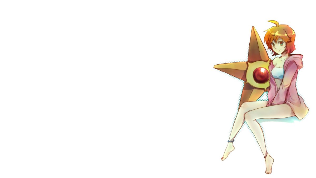 pokemon misty pokemon simple background white background staryu …