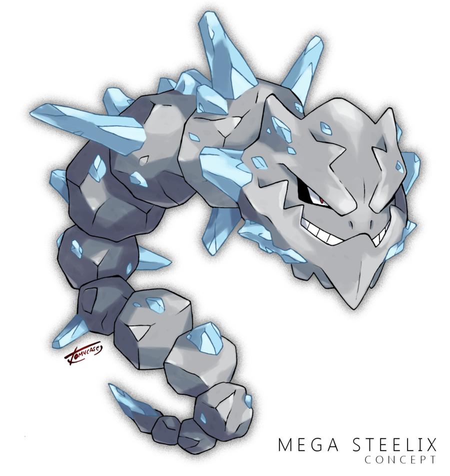 Mega Steelix -Concept- by Tomycase on DeviantArt