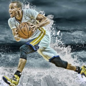download Stephen Curry Splash Mobile Wallpaper – Mobiles Wall