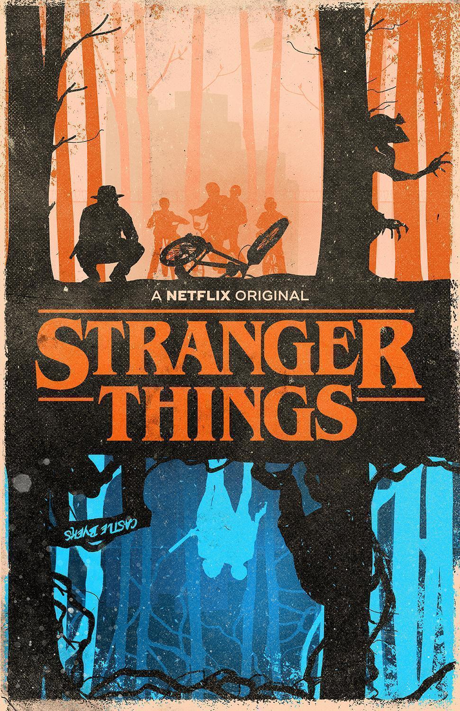 I made a Stranger Things Poster : Fantasy