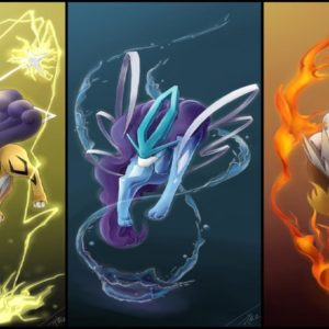 download 23 Suicune (Pokémon) HD Wallpapers | Background Images – Wallpaper Abyss