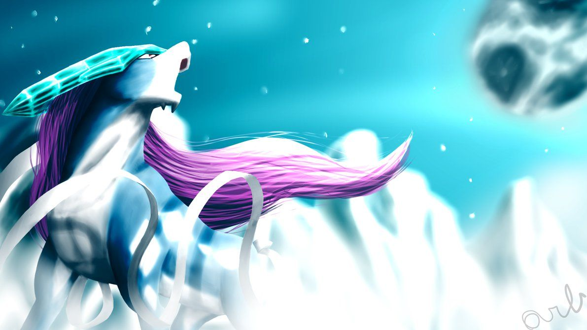 Suicune by Nodnarb01 on DeviantArt