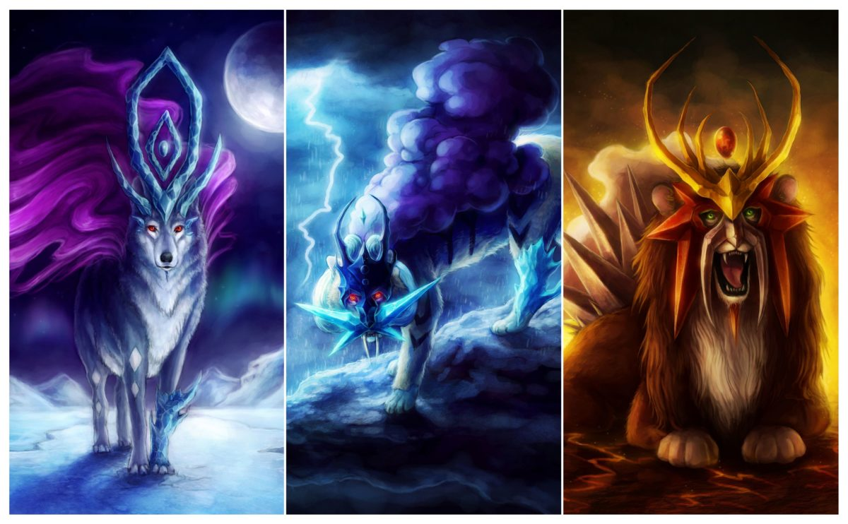 Realistic Suicune, Raikou and Entei Image – ID: 1623 – Image Abyss