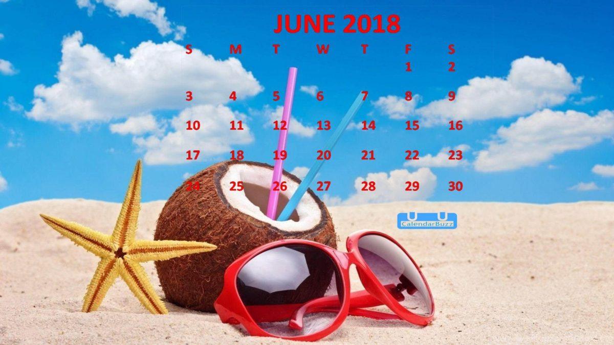 June 2018 Calendar HD Wallpaper | 2018 Calendar Wallpapers …