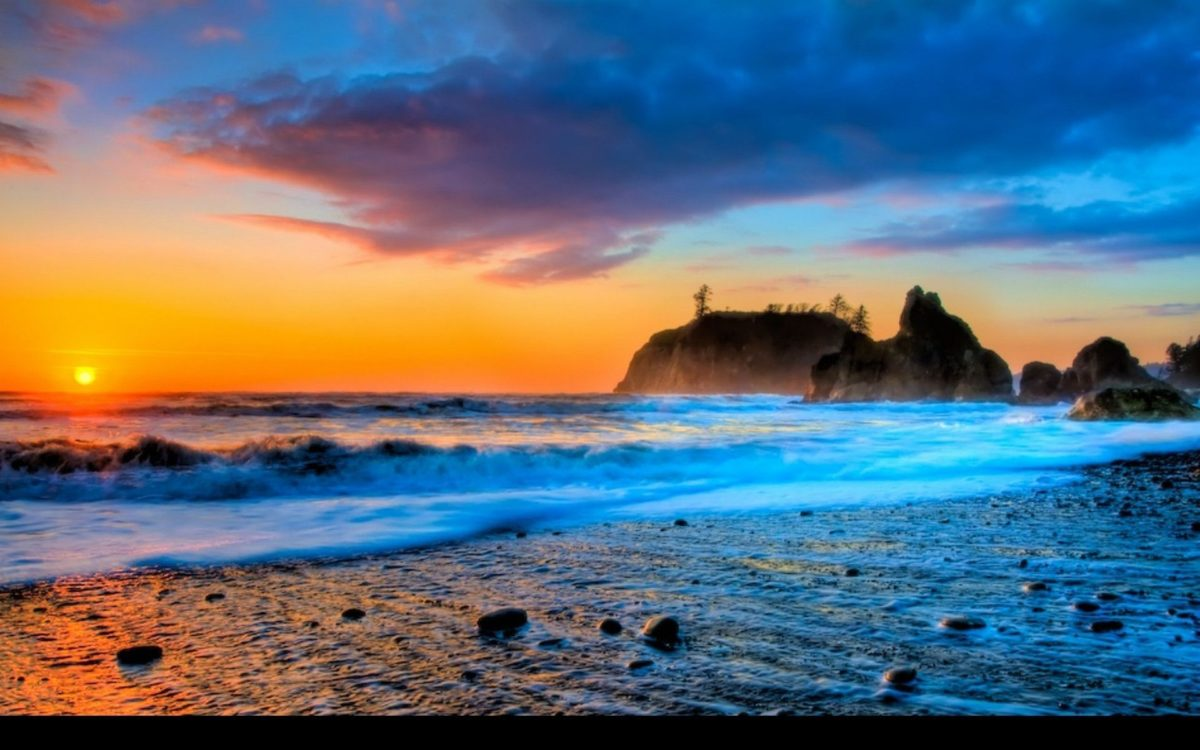 Best Of Summer Beach Sunset Wallpaper | The Most Beautiful Beach …