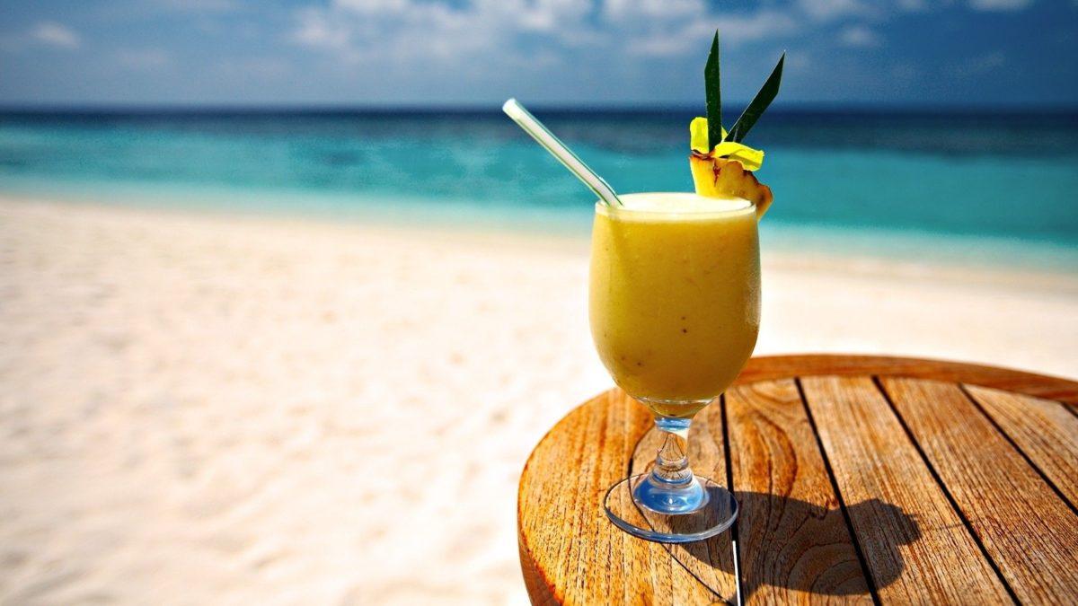 Pineapple Juice Beach HD Wallpaper – 2018 Wallpapers HD | Pineapple …