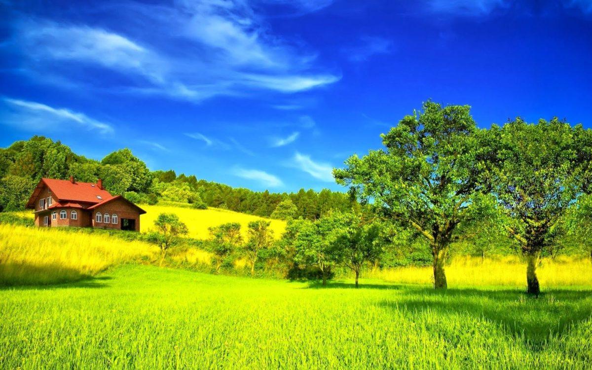 Desktop Beautiful Summer Season Hd With Nature Most Green Mountains …