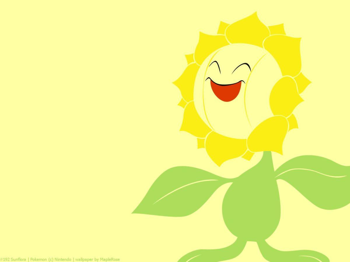 192 Sunflora | PokéWalls