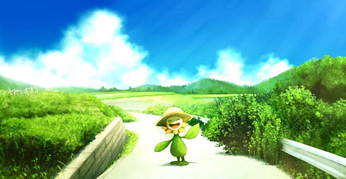 Hat pokemon ribero summer sunflora wallpaper | 1740×900 | 423168 …