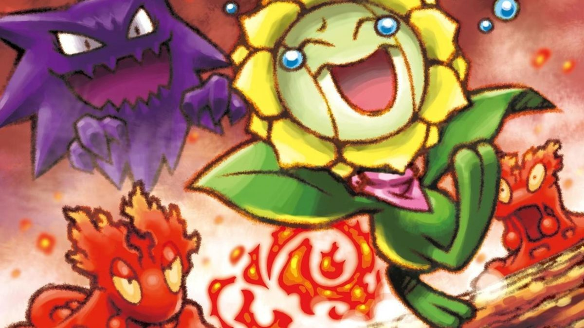 Nintendo pokemon haunter artwork sunflora wallpaper | (126461)