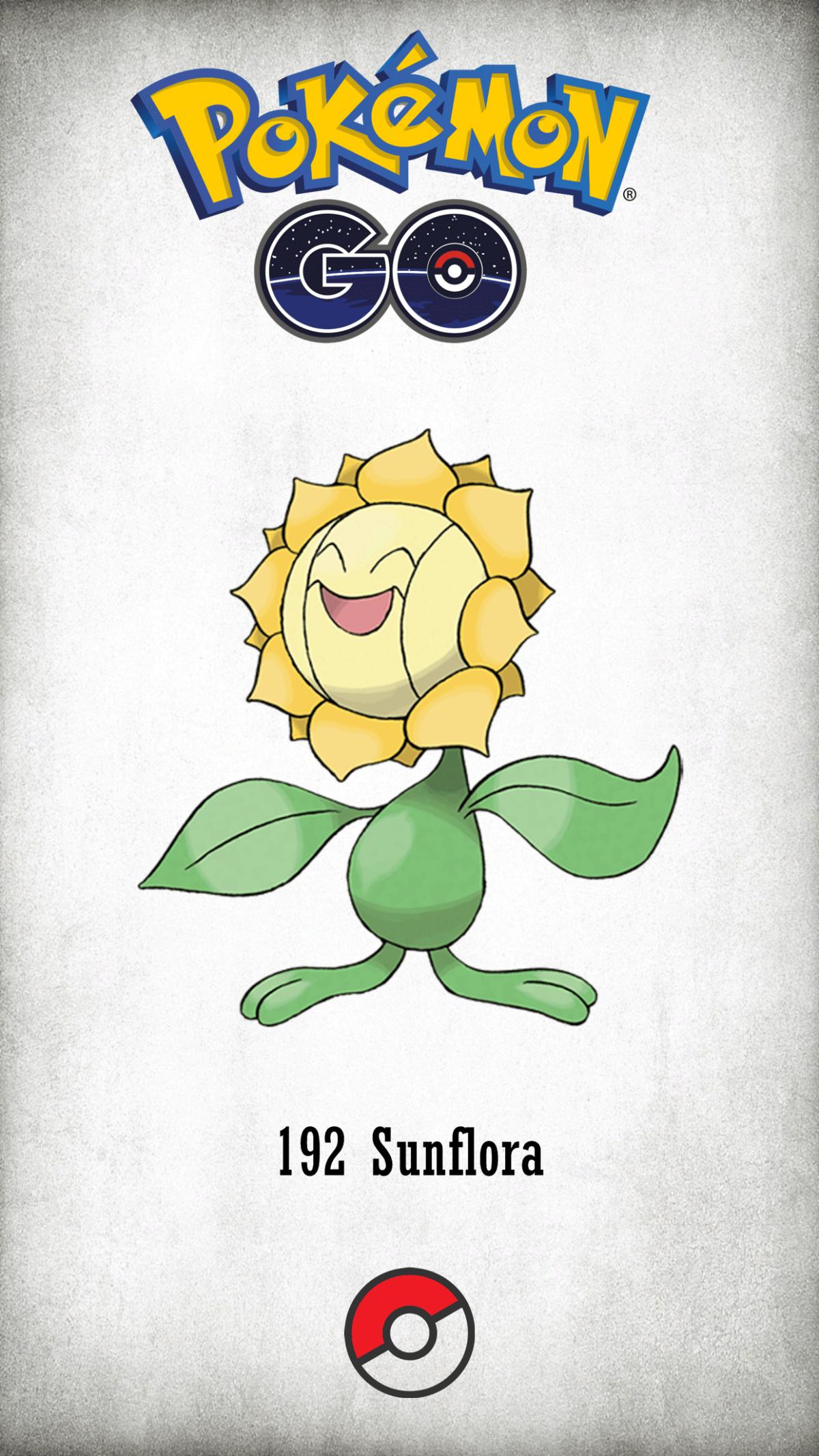192 Character Sunflora | Wallpaper