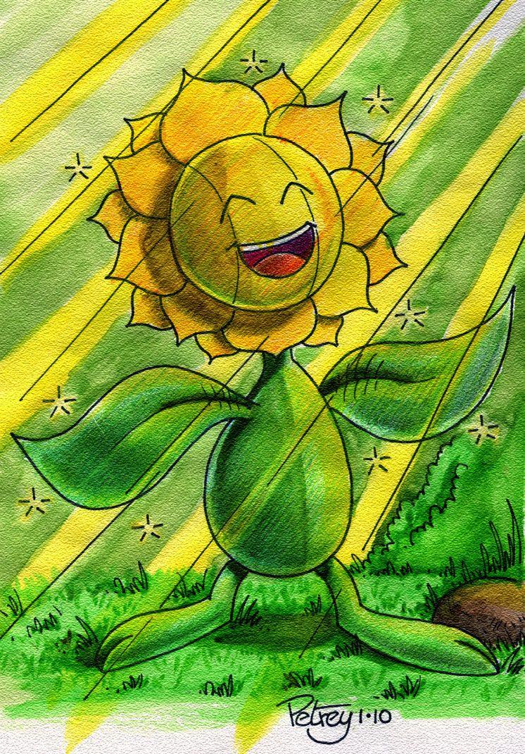 Let the sun shine in Sunflora by WillPetrey on DeviantArt