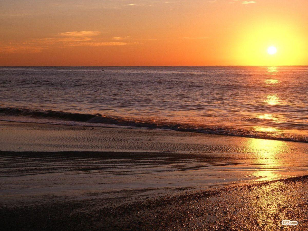 Sunrise Beach Wallpaper- HD Wallpapers OS