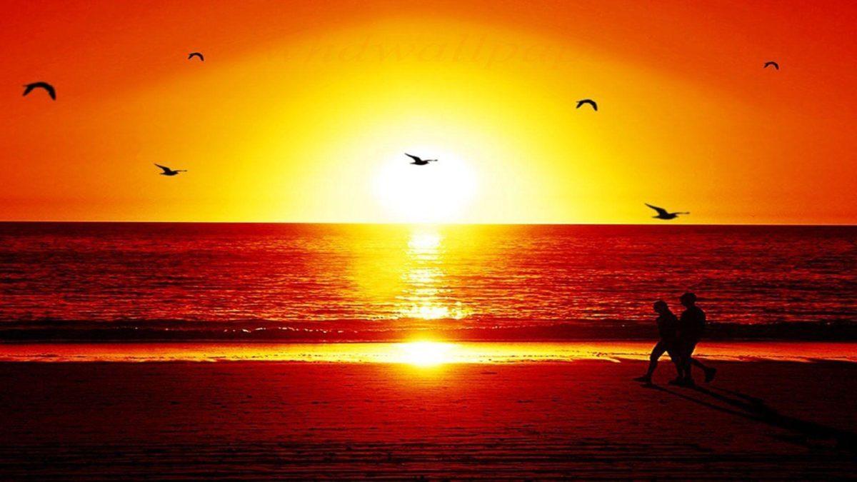 Sunset Wallpaper HD Widescreen