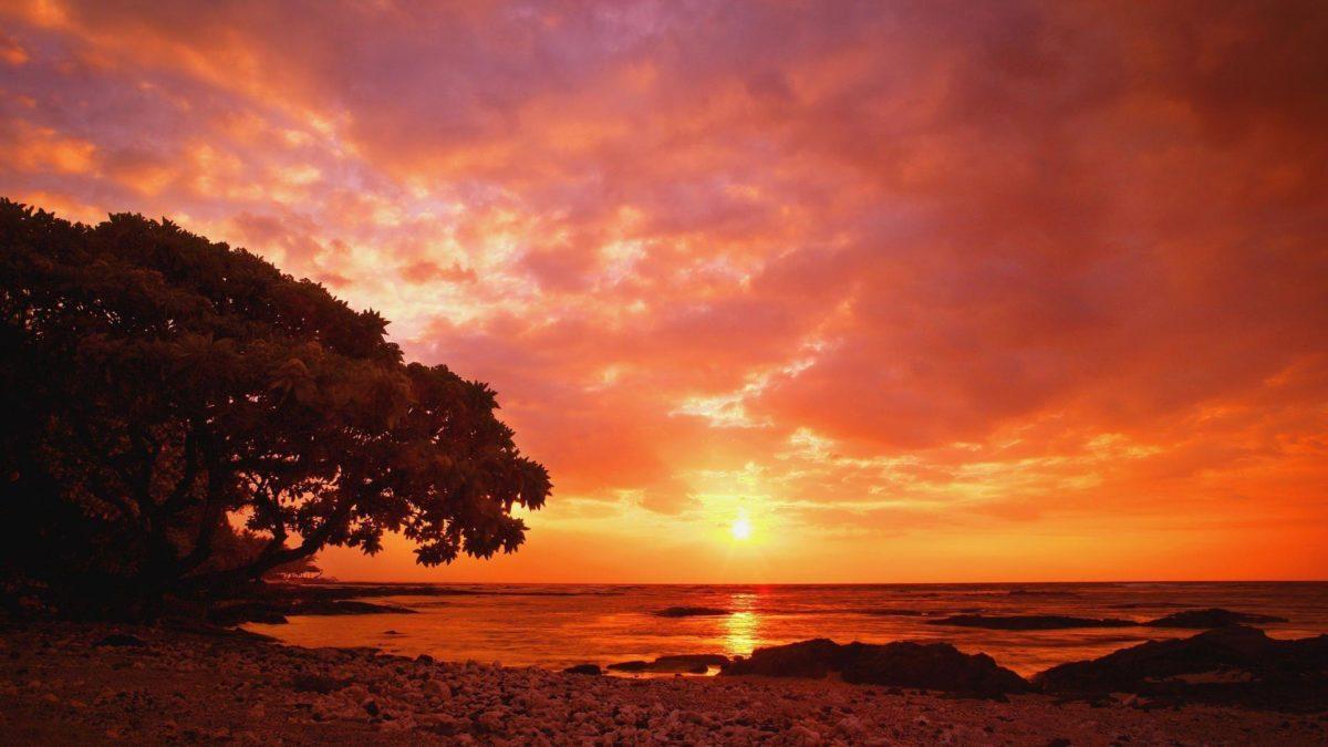 Beautiful Sunset Wallpaper Free Widescreen 2 HD Wallpapers | Eakai.