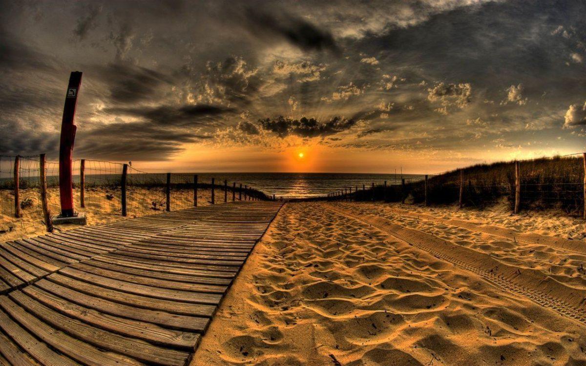 Beach Sunset Wallpaper Hd Hd Desktop 10 HD Wallpapers | Eakai.