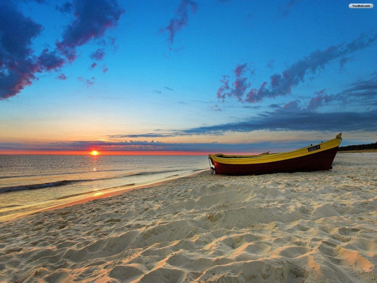 Beach Sunset Wallpaper Widescreen Widescreen 2 HD Wallpapers | Eakai.