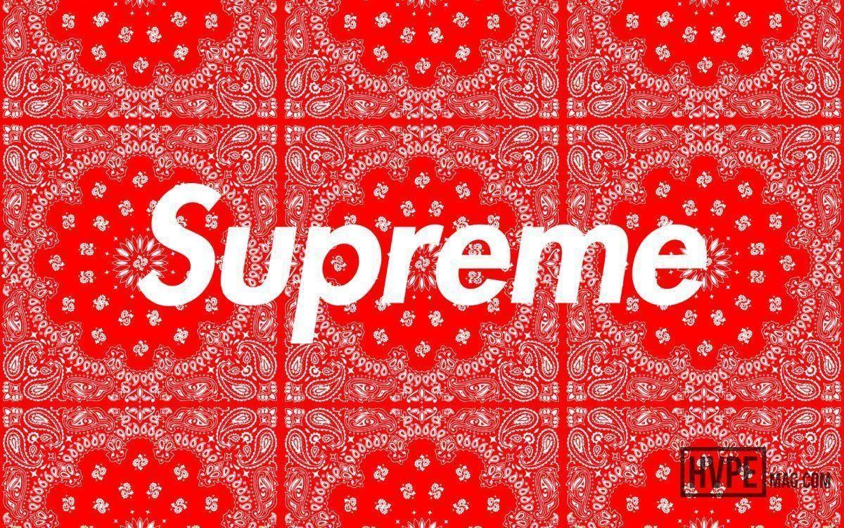 "Supreme ""Bandana"" Wallpapers | HVPE"
