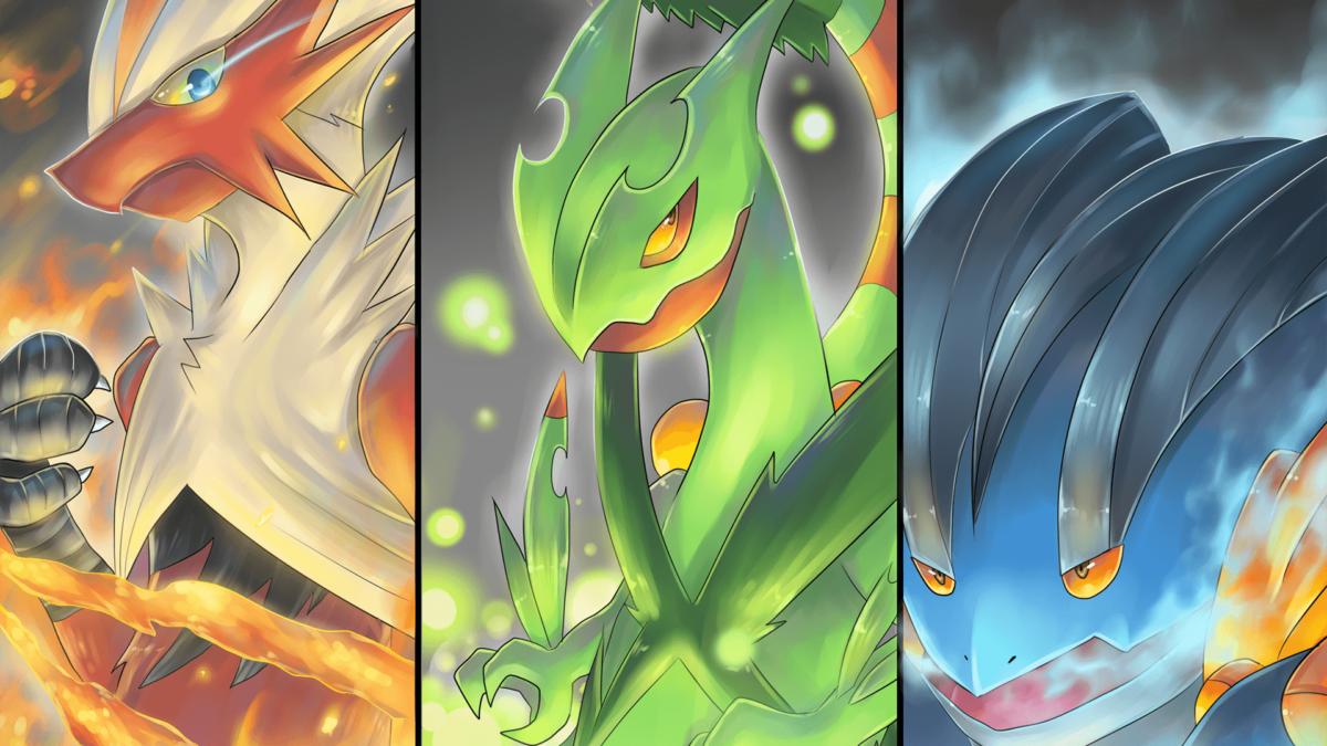 2 Mega Swampert (Pokémon) HD Wallpapers | Background Images …