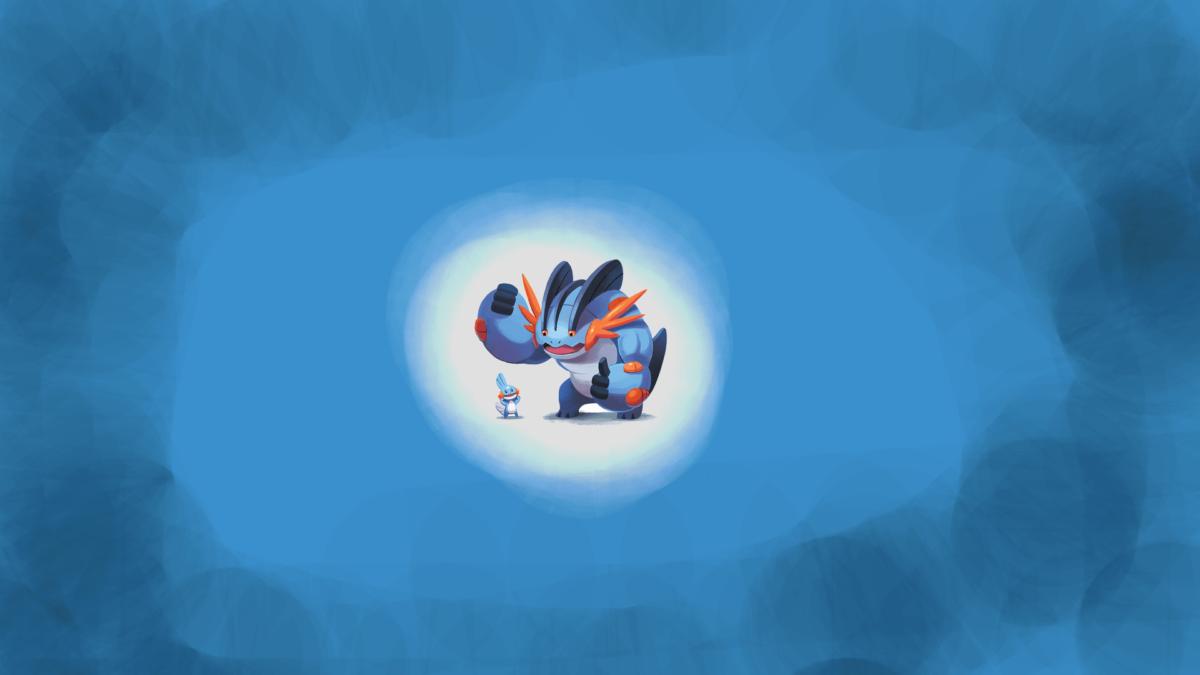 Mega Swampert (1920×1080) Wallpaper : pokemon
