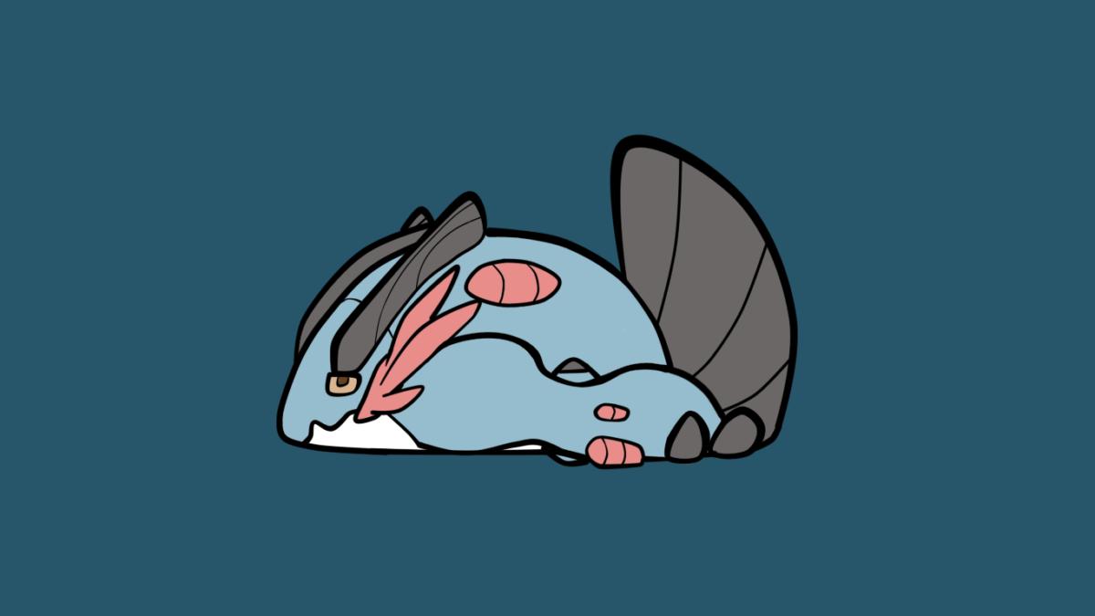My girlfriend made an adorable Mega Swampert! : pokemon