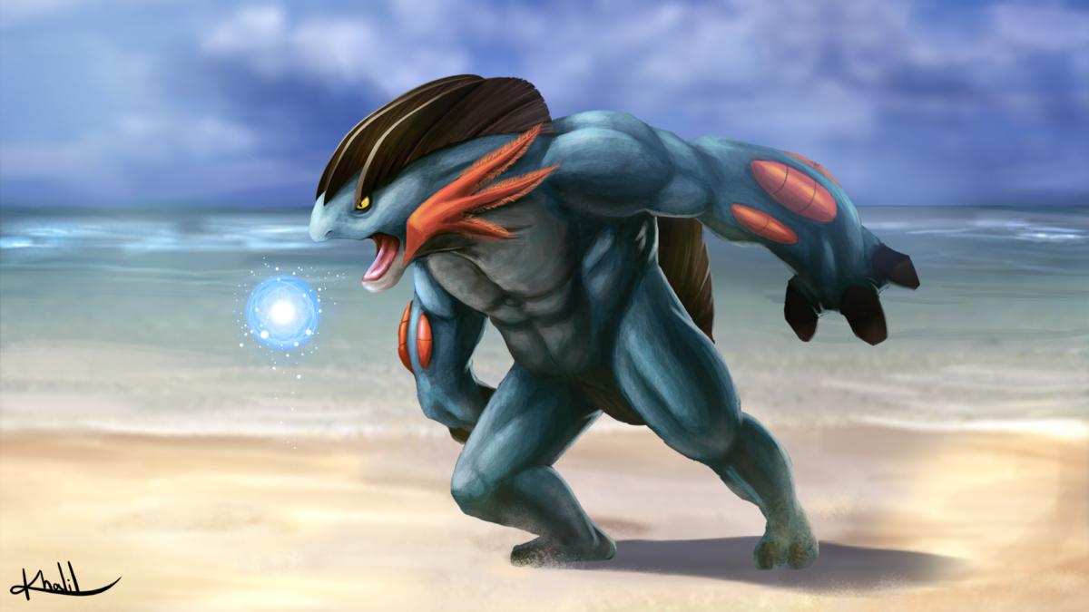 Mega Swampert – Pokemon OR/AS Brazillian Tribute by Chronokhalil on …