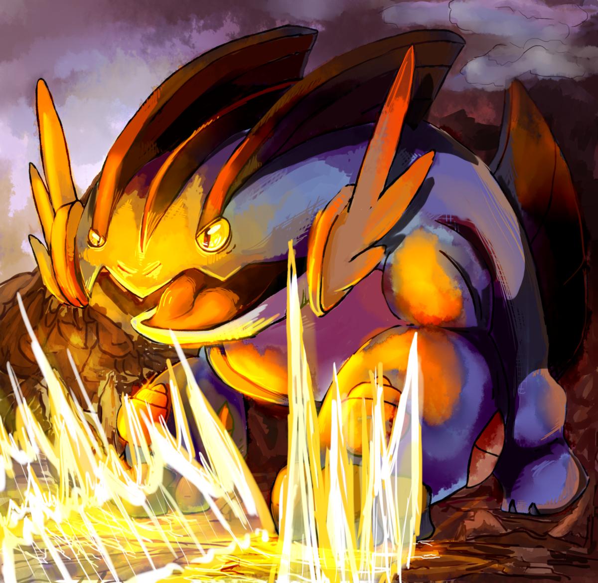 Mega-Swampert Attacks — Weasyl