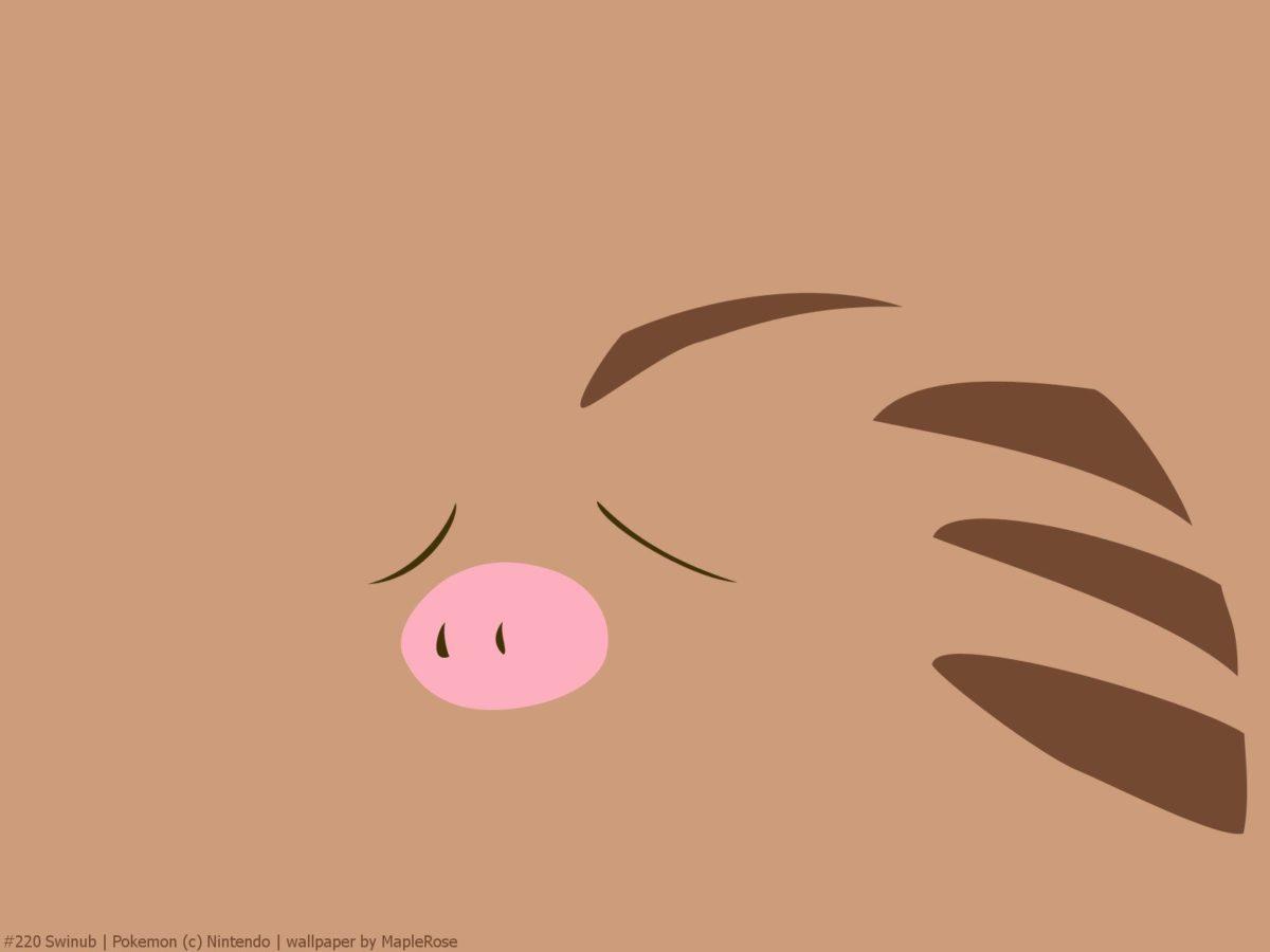 220 Swinub | PokéWalls