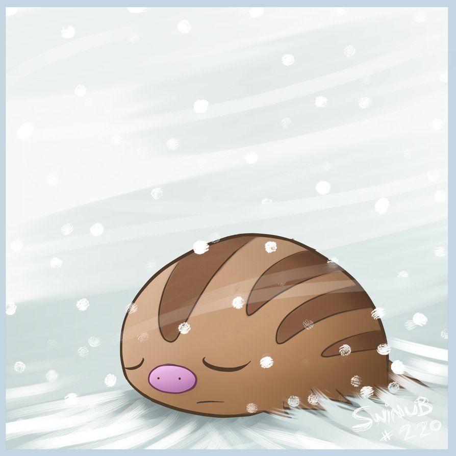 Sleepy Swinub by Twime777 on DeviantArt
