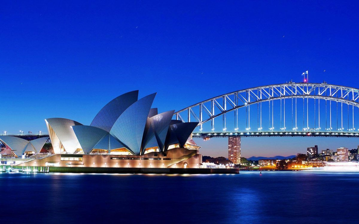 Sydney Opera House and Bridge Wallpaper – HD Wallpapers