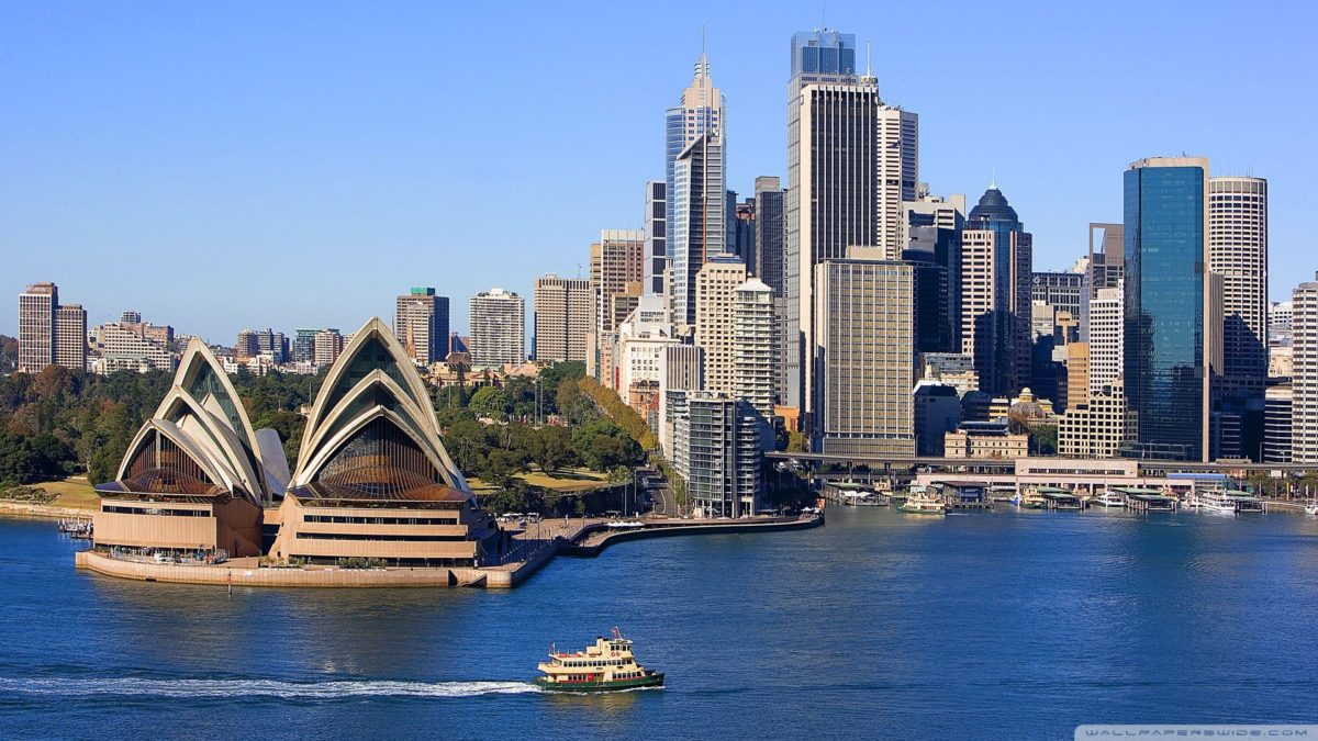 Sydney Skyline ❤ 4K HD Desktop Wallpaper for 4K Ultra HD TV …
